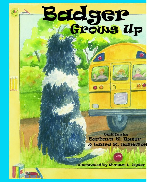 Badger Grows Up Children's Book